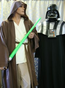 Jedi and Darth Vader Star Wars Costumes