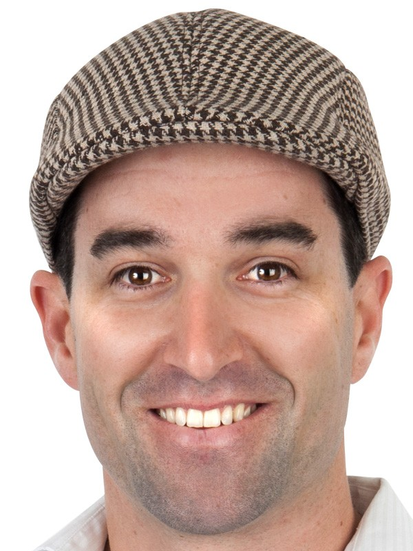 Tweed flat cap - we have others available to hire