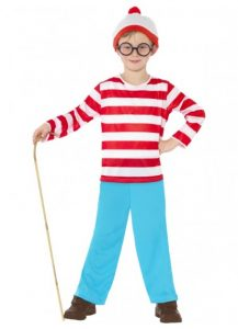 Where's Wally-one of our kids book week costume ideas