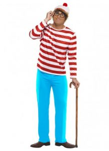 Wheres Wally book character costume.