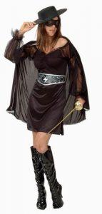 Zorro girl bandita costume
