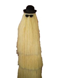 Cousin it. Addams family 70s TV or movie costume
