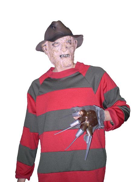 Freddy Krugger 80's, 90's, 00's movie costume. Halloween costumes
