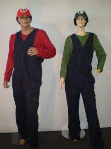 Mario & Luigi gameing costumes