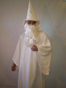 Gandalf the White, Lord of the rings wizard costume