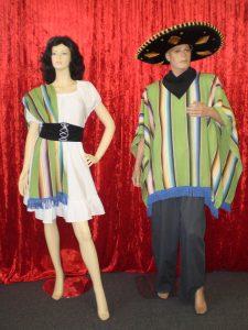 Men's & women's Mexican costumes