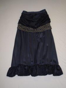 Edwardian Bustle skirt
