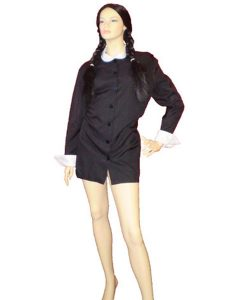 Wednesday. One of our Addams family costumes.