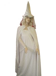 White witch costume