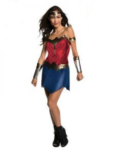 Wonder Woman classic costume. Available to buy in store.