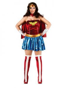 Wonder Woman plus size. Available to buy in store.