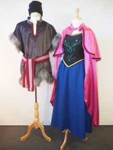 Frozen costumes for adults Kristoff and Anna