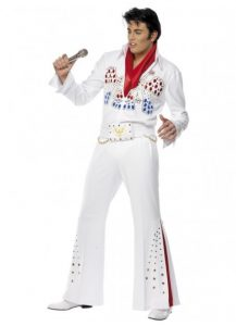 White Eagle Elvis costume