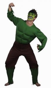 Hulk super hero costume