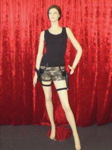 Lara Croft costume, Lara Croft gun belt holster set. Tomb Raider gaming costume