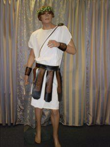 Marc Antony Roman soldier costume