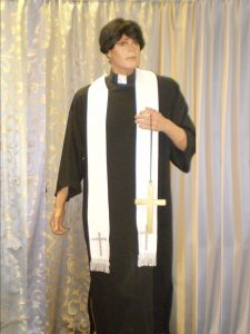 Priest or Vicar costume - costumes starting with V