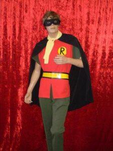 Robin Superhero from Batman & Robin