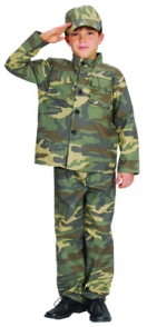 Child's soldier costume