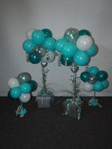 Engagement balloon arrangements