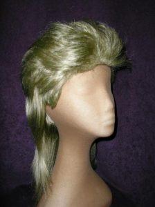 80's blond mullet