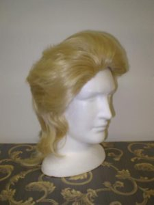 Blond mullet to hire