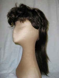 Brown bogan wig
