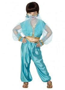 Childs Arabian princess costume
