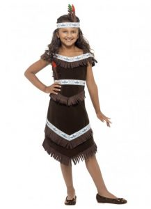 Child's Indian Squaw costume