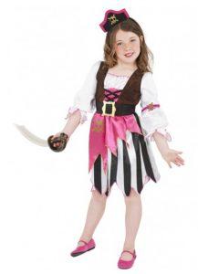 Child's pirate girl costume