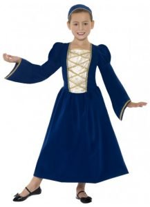 kids Medieval dress fro Juliet or Maid Marion