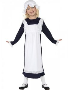 Old fashioned maid costume for kids