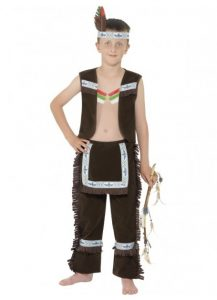Indian brave kids costume