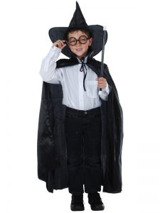Child's Wizard costume set