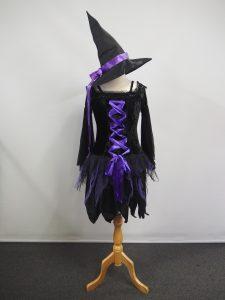 Black & Purple witch costume