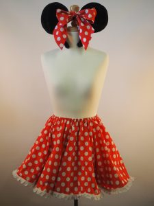 Minnie Mouse skirt & ears