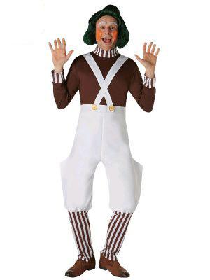 Adults Oompa Loompa costume - Sydney costume shop.