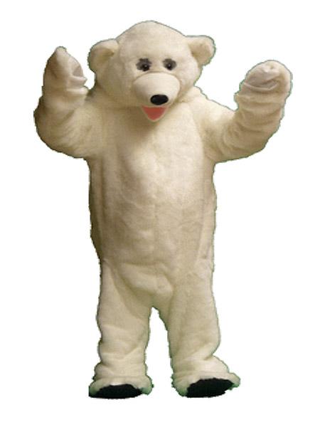 Polar bear Winter Wonderland costume