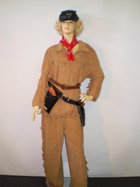 Calamity Jane women's western costume