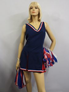 Cheerleader costume uniform dress