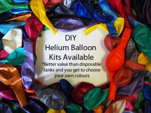 DIY helium balloon kits
