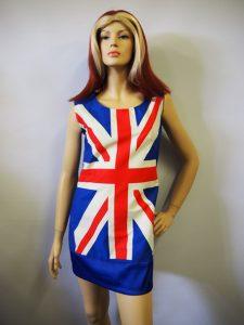 Ginger Spice costume & wig