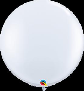 Big white balloon