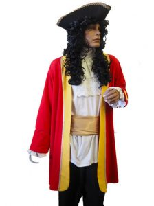 Captain Hook costume & wig
