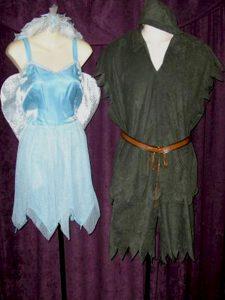 Peter Pan & Tinkerbell costumes