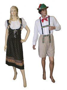 German dirndl & lederhosen