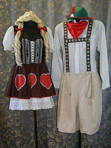 German couple costumes