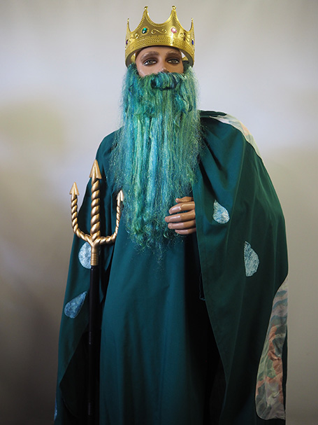 King Neptune costume & beard