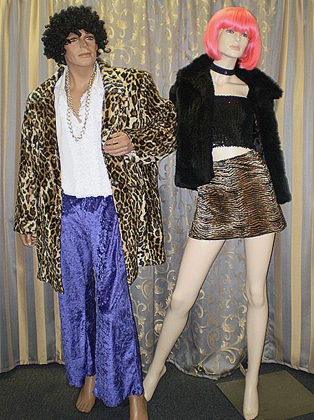 Pimp & prostitute costumes
