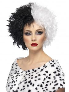 Evil Madame wig like Cruella